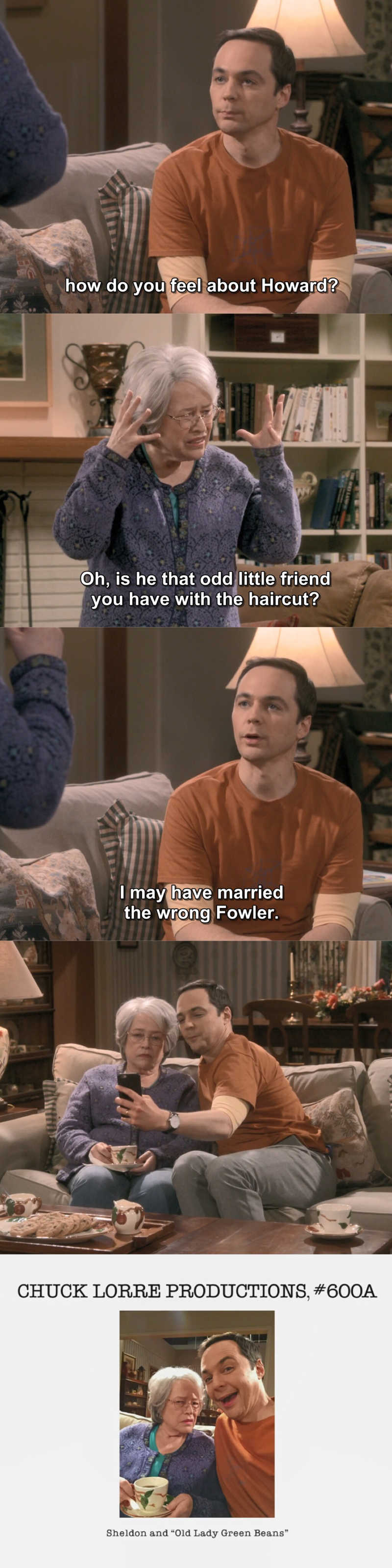 """""""I may have married the wrong Fowler"""" 😂😂"""