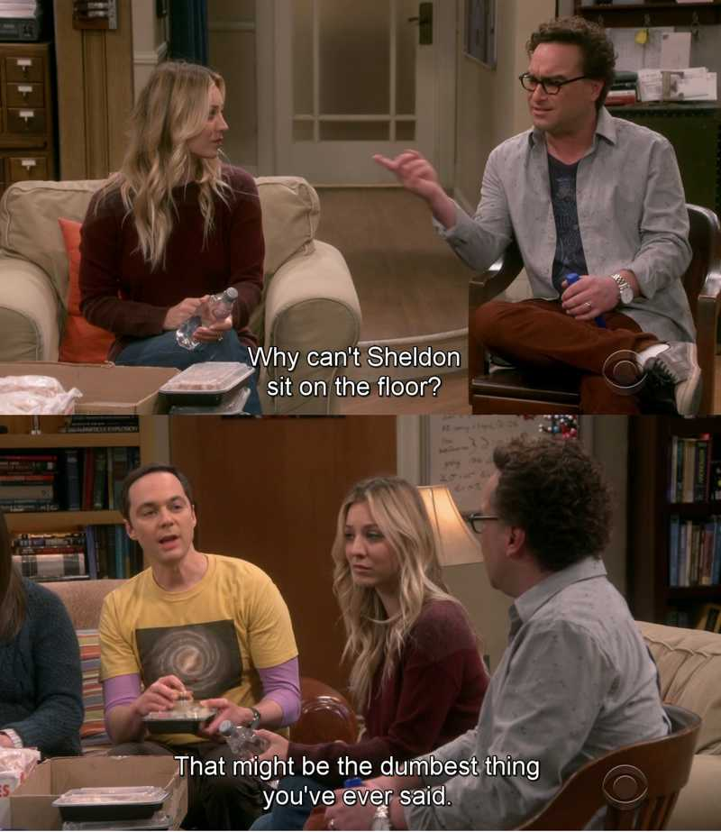 I'm right there with you, Sheldon