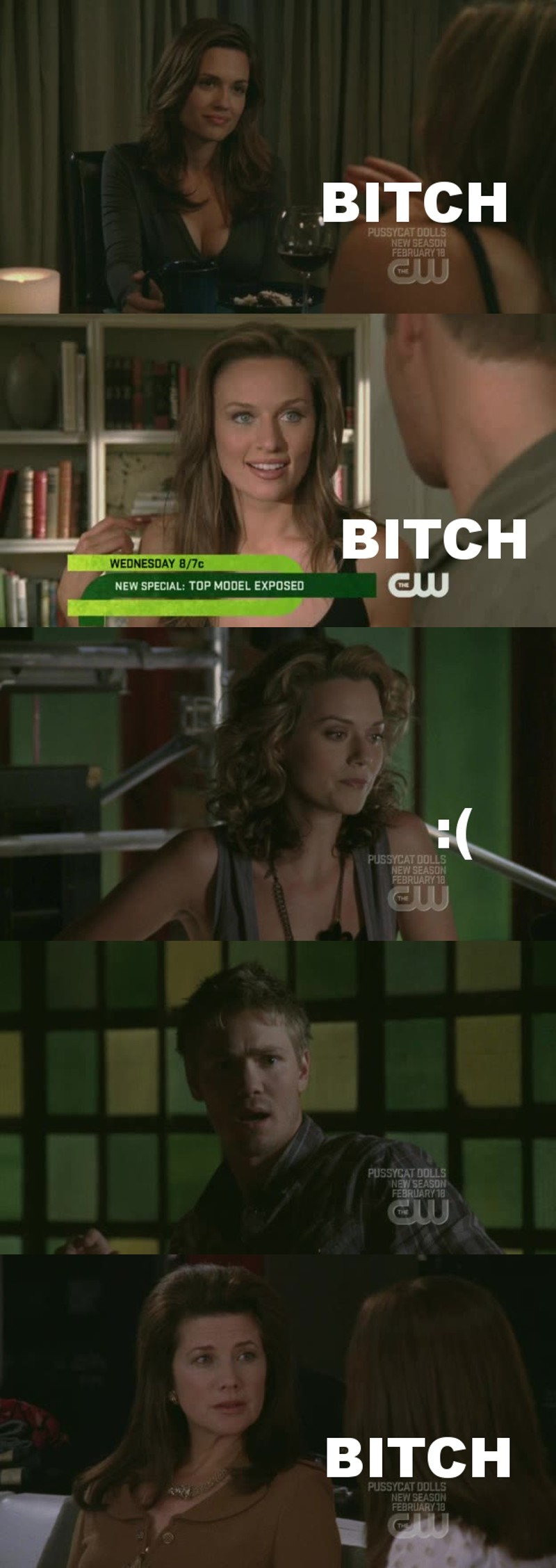 Every new characther is a bitch, ugh.  Leyton 💔