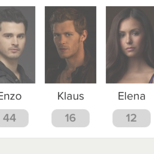 Why the fuck people said they've prefered Klaus or Elena on this episod when we didn't even saw them. People are weird