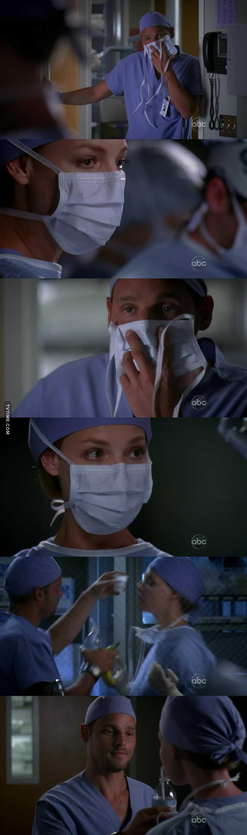 Find someone to yell at you until you take your medicine, like Karev. 💕