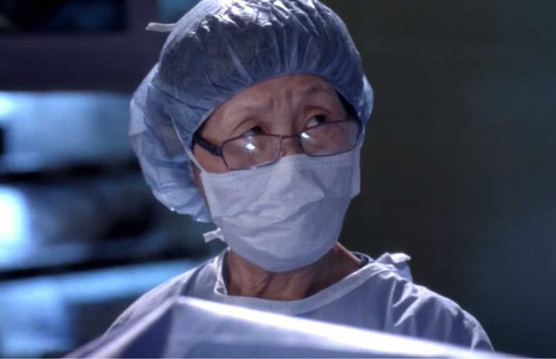 The only person will be alive in the last episode of grey's anatomy.
