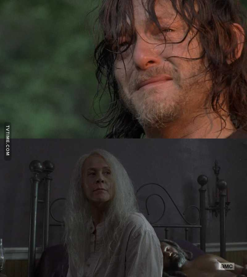 Daryl isn't the only one who needs a haircut anymore....