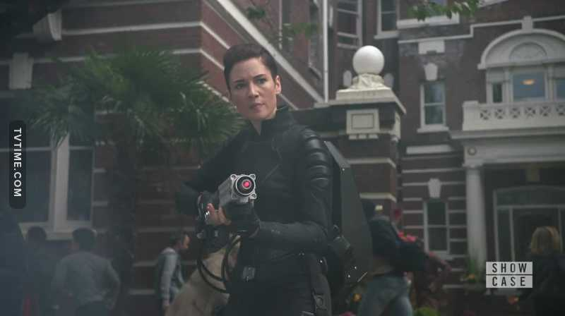 When there's something strange in the neighborhood who you gonna call? ALEX DANVERS!