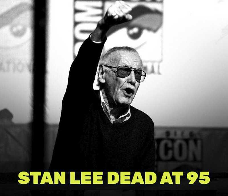 Rest in peace stan lee, you will be missed by all us😢❤❤, i can't wait to see you for the last time in avengers 4, thanks for everything