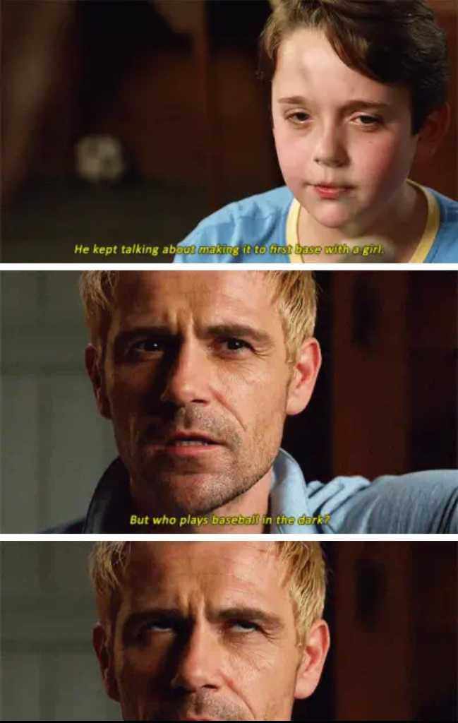 Constantine rolling his eyes was the best thing ever! I laughed so much!