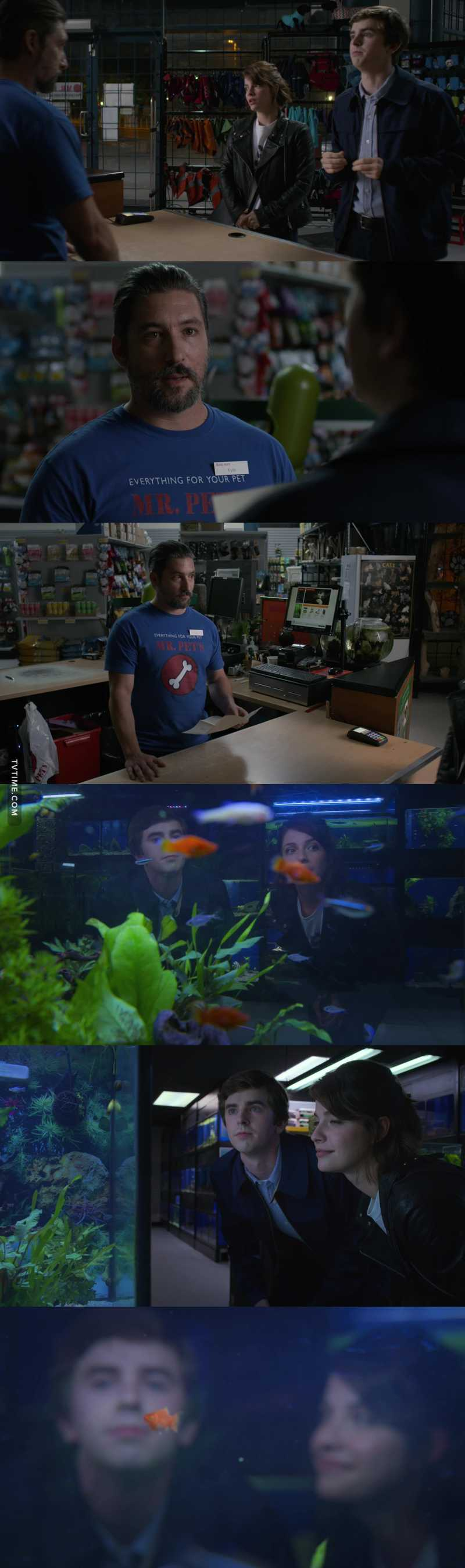 You have no cards left to play. They get a new fish. Shaun just melts your heart how he is with Lea. Awesome episode.👍❤️👏🐠