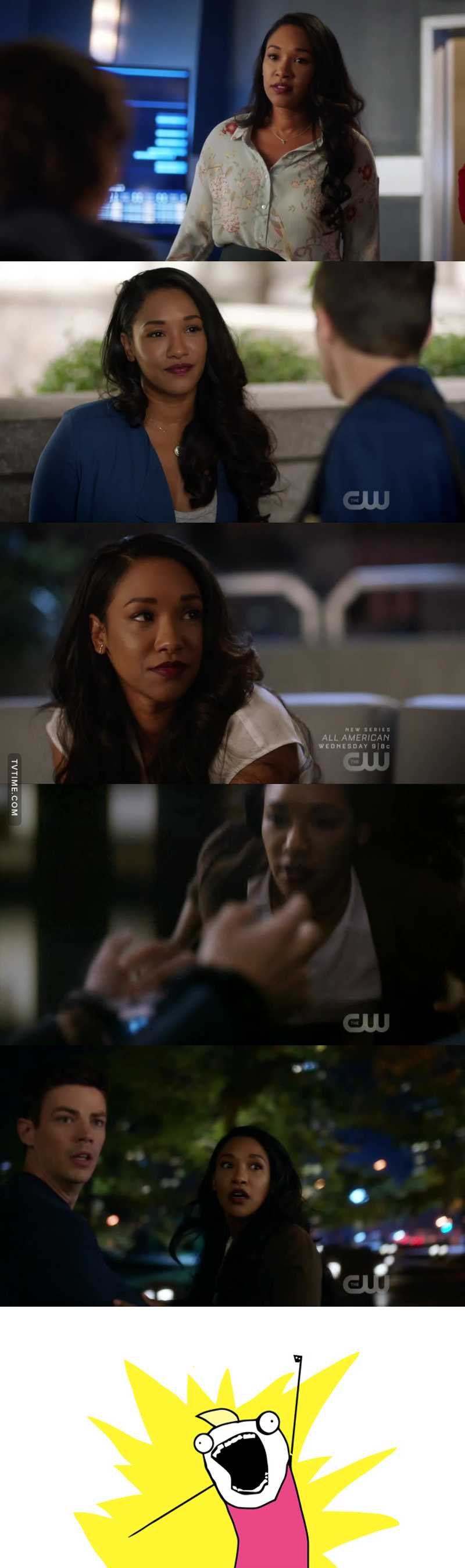 i am loving iris this season. and she was soo great this episode