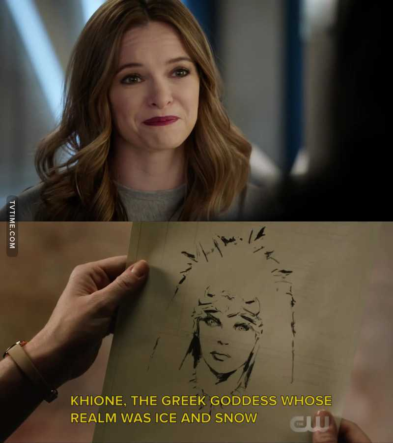 What I Got From This Episode:  CAITLIN/ KILLER FROST = GREEK GODDESS😍🤩  Makes so Much sense.