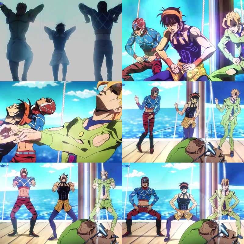 Finally the iconic dance is animated & it was funny & amazing 😂💙💙