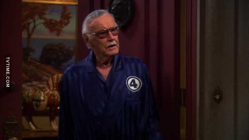 Another great guest star passed away... 😢  RIP Stan Lee