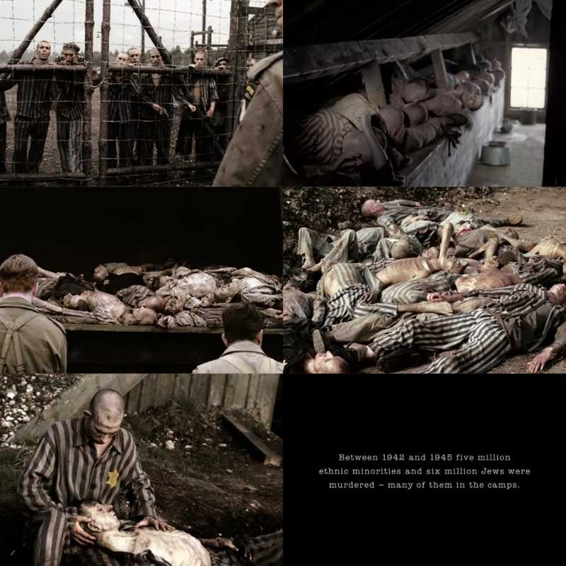 The most saddest pages of human history. Such a strong episode of the most tragic part of a war. I cried so hard! (Reminds me when a cried watching Schindler's List).