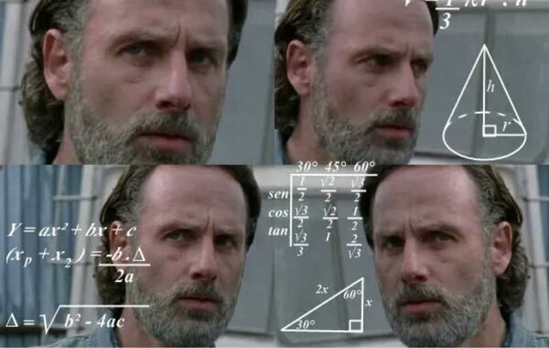 My reaction after seeing Daryl/Michonne's scars.