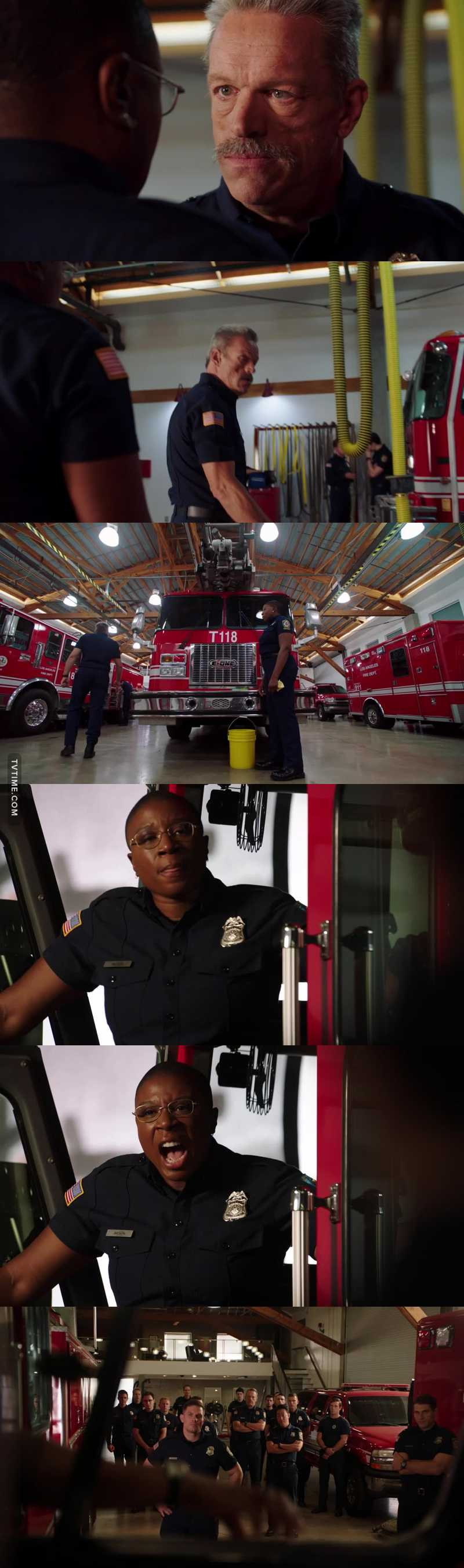 Just when you thought the asshole couldn't get any worse he moves up to total bastard. Hen was meant to save lives. I hope we see more storylines like this of all are Great 911 Fire Fighters🧯 🔥  Hen on explaining racism and bigotry and discrimination in a single sentence. Hen Speech was honestly Spoken from the truth and Heart.  She has a right to hold her head high and be proud of the lives she saves.  Great Great Episode. 👍♥️🔥👏👏👏👏👏