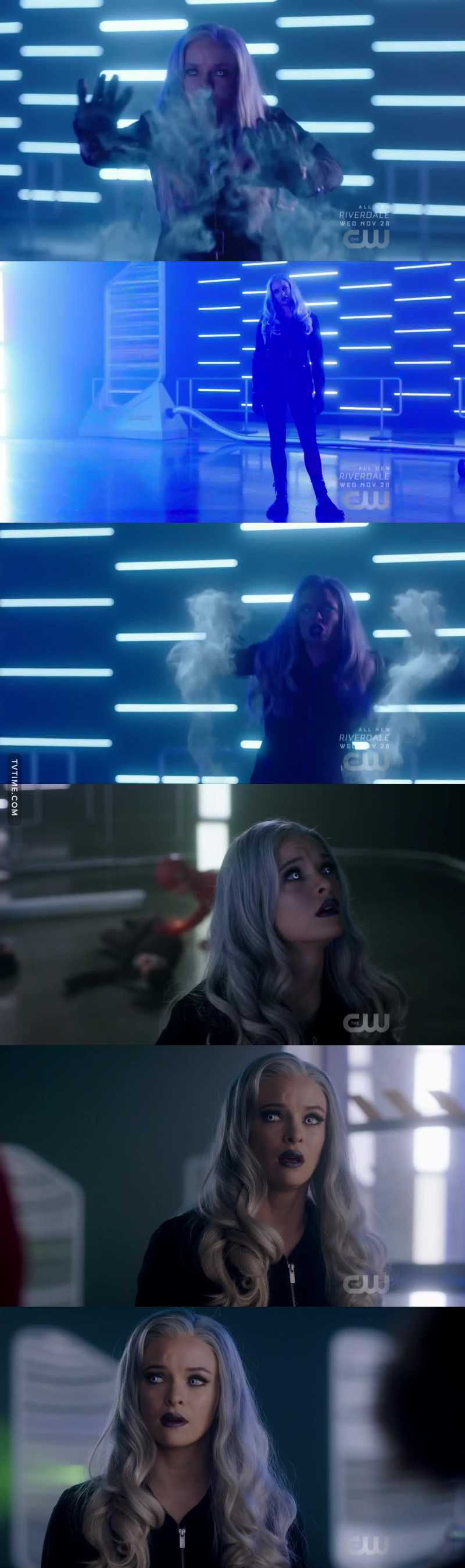 Killer Frost is back bitches.(She was protecting her family)🥰 🥶 ❄️💙😍