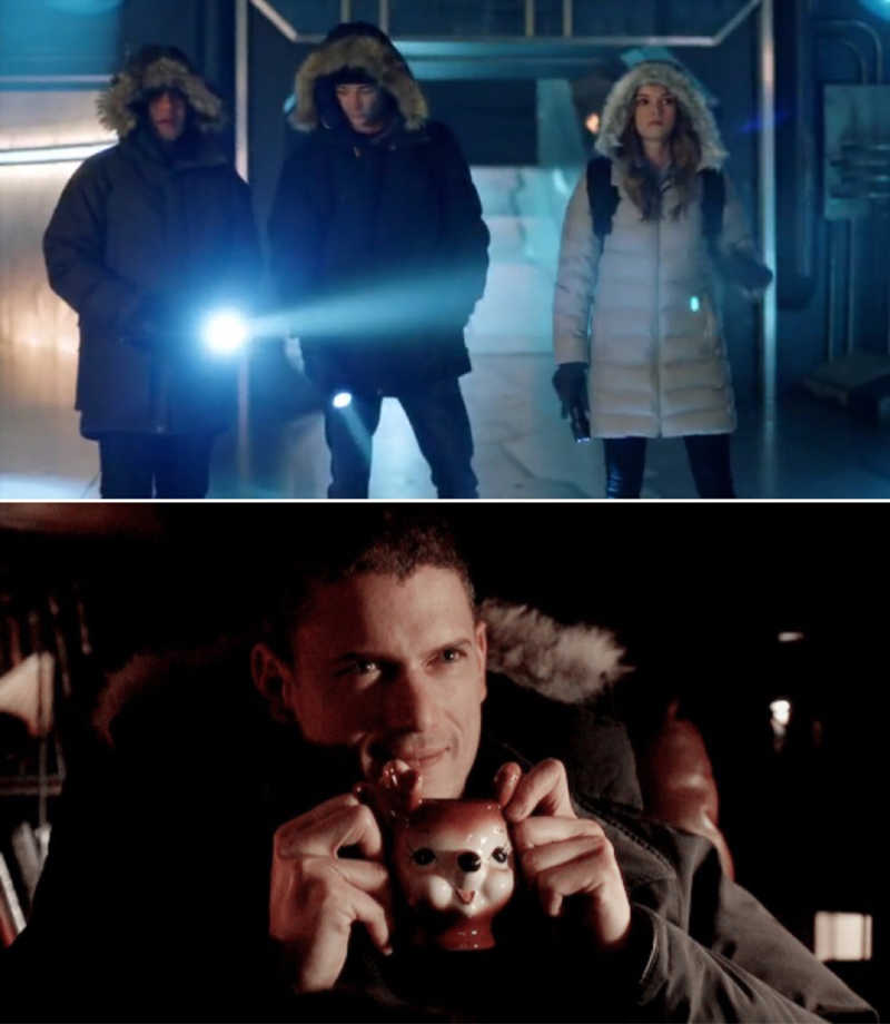 Captain Cold approves 😉😅