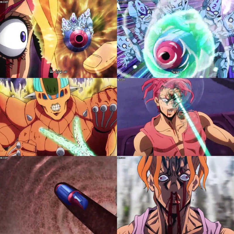 Mista was totally badass & his stand is amazing 😍