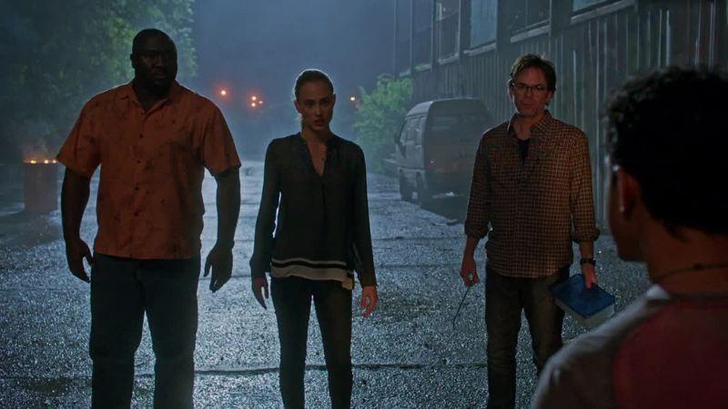Alors c'est l'histoire d'un africain, d'une française et d'un américain qui arrive à Rio...