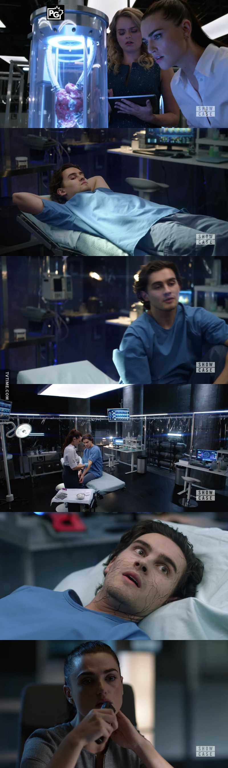 Am i the only one who thinks Adam will come back to life and the experiment worked but was just delayed? Remember they thought the heart experiment was a failure until they tried to burn it and realized it was invincible l...his heart may have stopped but he may very well be alive and invincible.