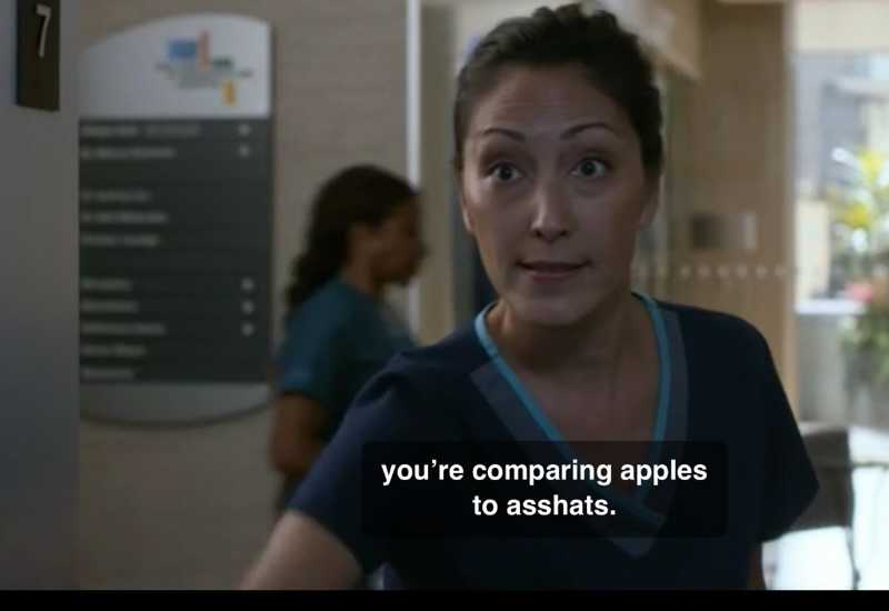 """You're comparing apples to asshats."" I love when Dr. Lim goes savage on Dr. Melendez 😂"