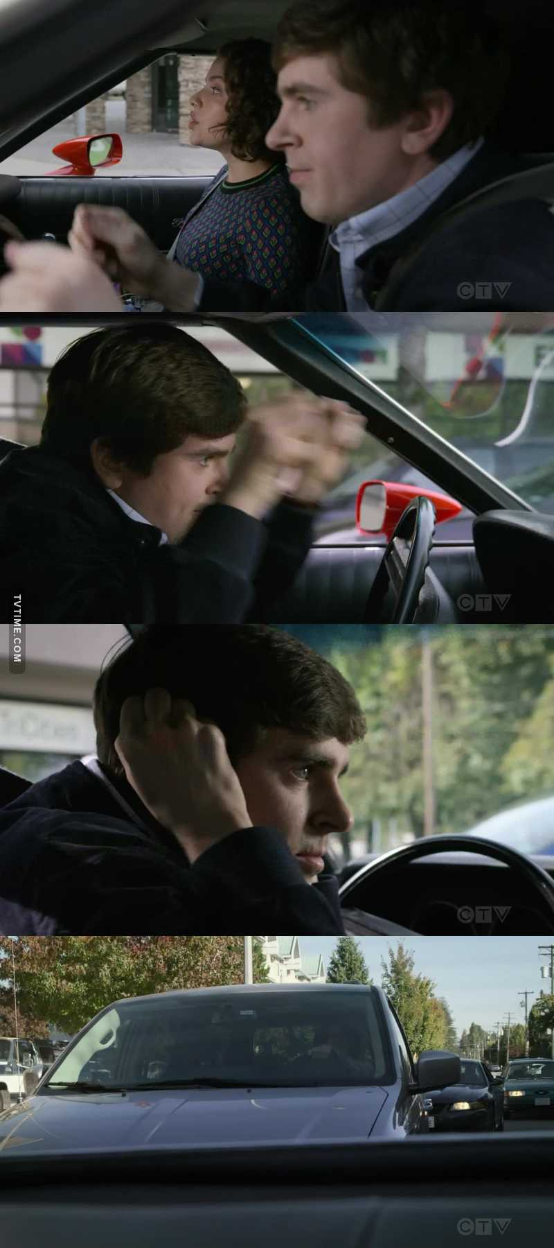 his acting is so fucking good and amazing wow i hope freddie highmore gets an emmy someday