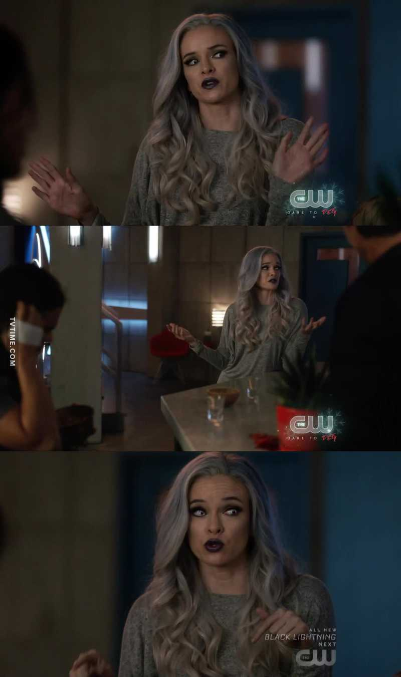 Killer Frost is amazing 😂😂