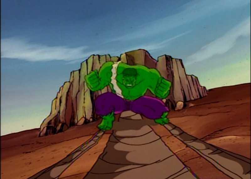 The Hulk 😊