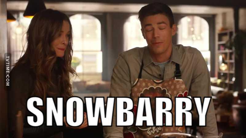 Okay who ships snowbarry????