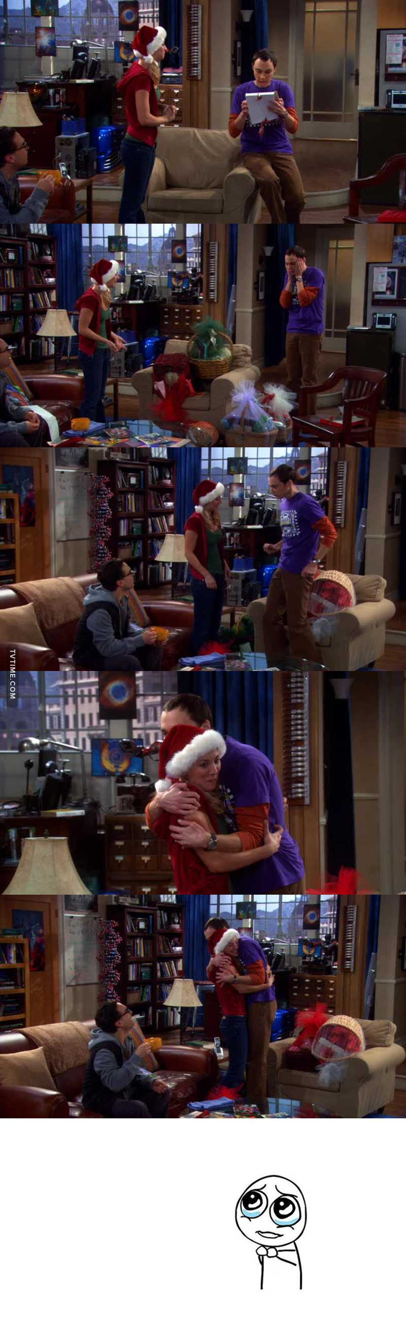 they're like siblings ❤️ i love them Sheldon is so precious