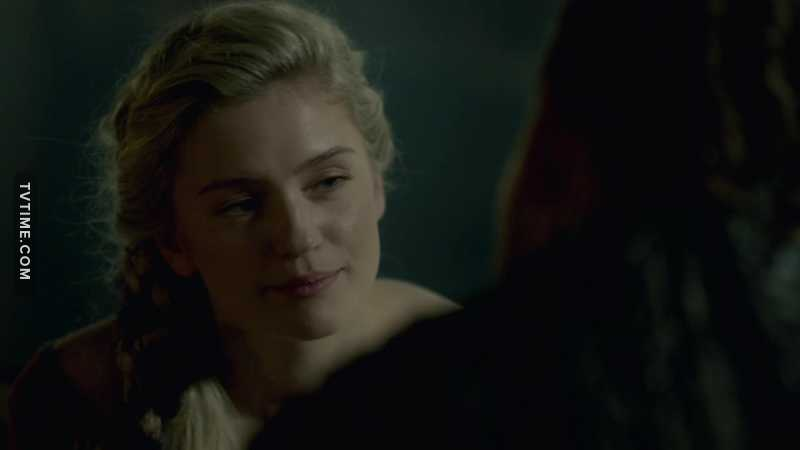 Ivar the boneless, son of Ragnar Lothbrok, the new king… so easily manipulated by a wench. Typical.