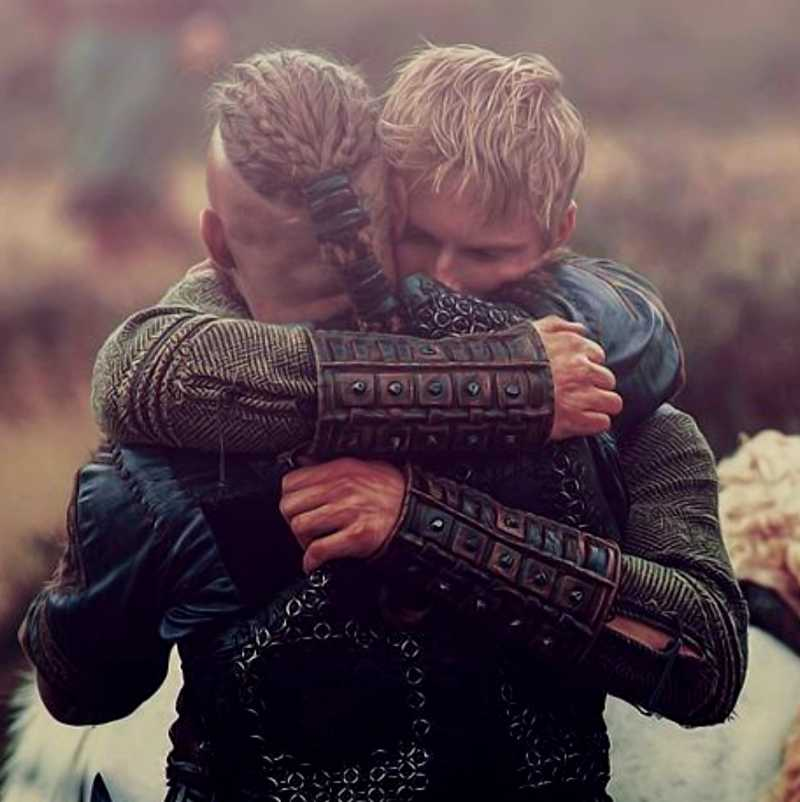 I will always see Bjorn as THE son of Ragnar.