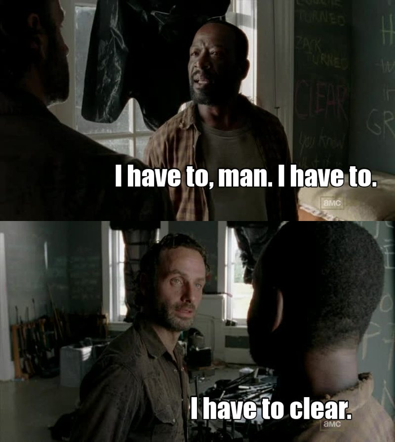 "Rick's facial expression was like : ""Wtf are you saying dude?"" Omg it was so funny"