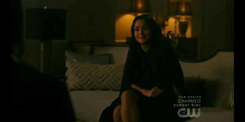 Why the hell she told Hiram the whole plan of proving Archie's innocence. I mean she really can't keep her mouth shut.