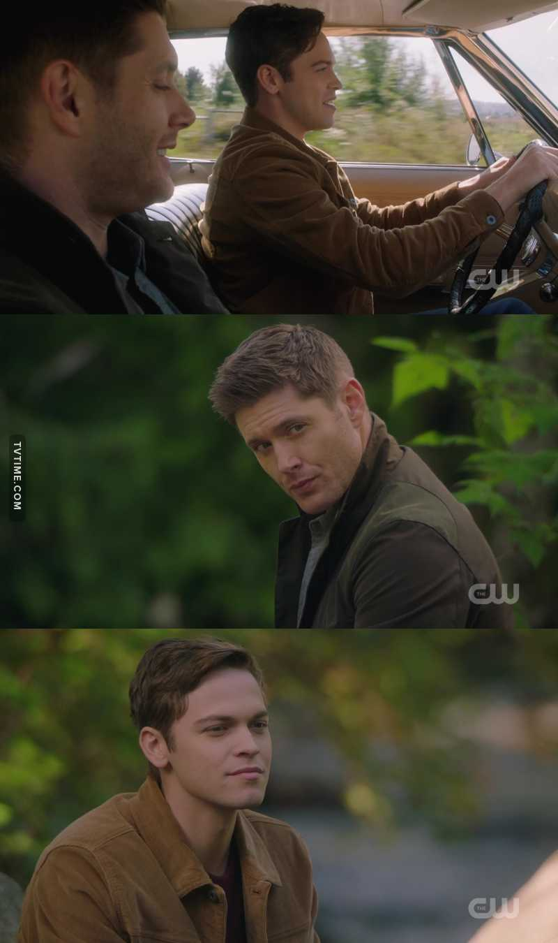 They always showed us mostly Jack bonding with Cas or Sam but I'm glad that this time they gave us these beautiful moments with Dean, their scenes are underrated