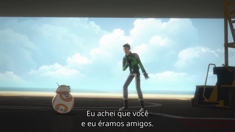 hahahahahaha Véi, o BB-8 é o melhor!