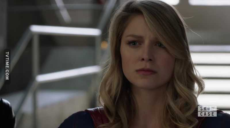 For a second there, I thought she was going to do it. I thought she was going to reveal herself as Kara. For some reason, I didn't hate that idea. I know it's not logical though, she made the right decision.