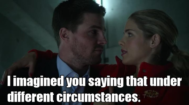 I ship Ollicity but i'm actually glad that he admitted his feelings for Laurel so that he can move on from her in the future !