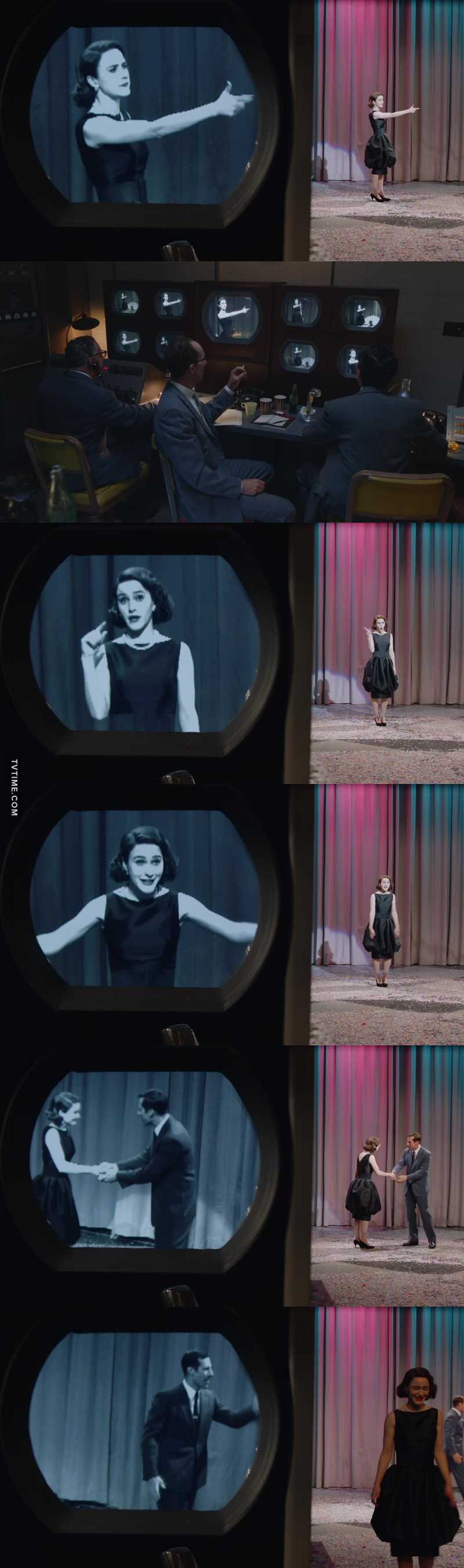 Mrs.Maisel was funny and wonderful on television ❤️❤️❤️