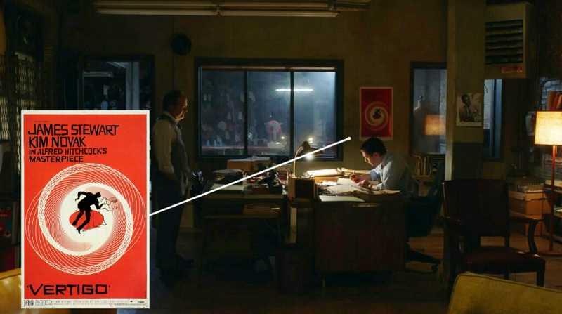 Alfred Hitchcock's 'Vertigo' movie poster