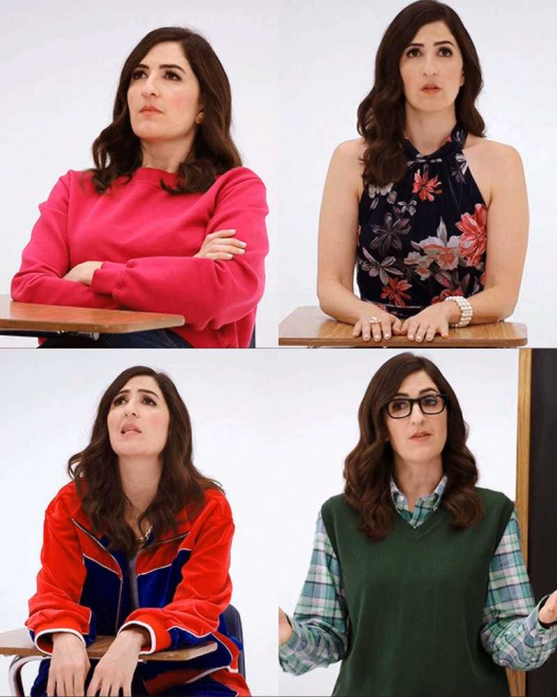 Can we just take a moment to appreciate D'arcy Carden's acting and how she was able to capture the essence of the four characters perfectly
