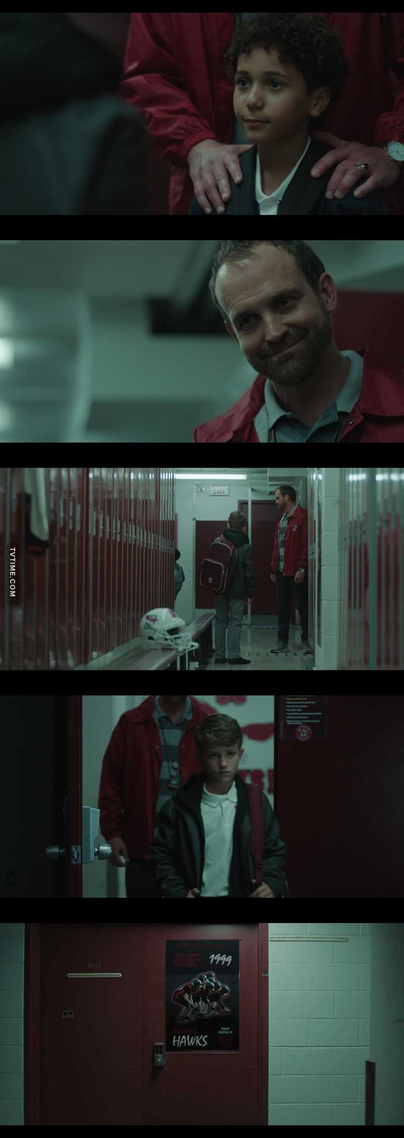 That scene broke me. Such a brave thing to do for a kid, and so heartbreaking to see that he grew up so fast. I had goosebumps watching it, the coach was disgusting.