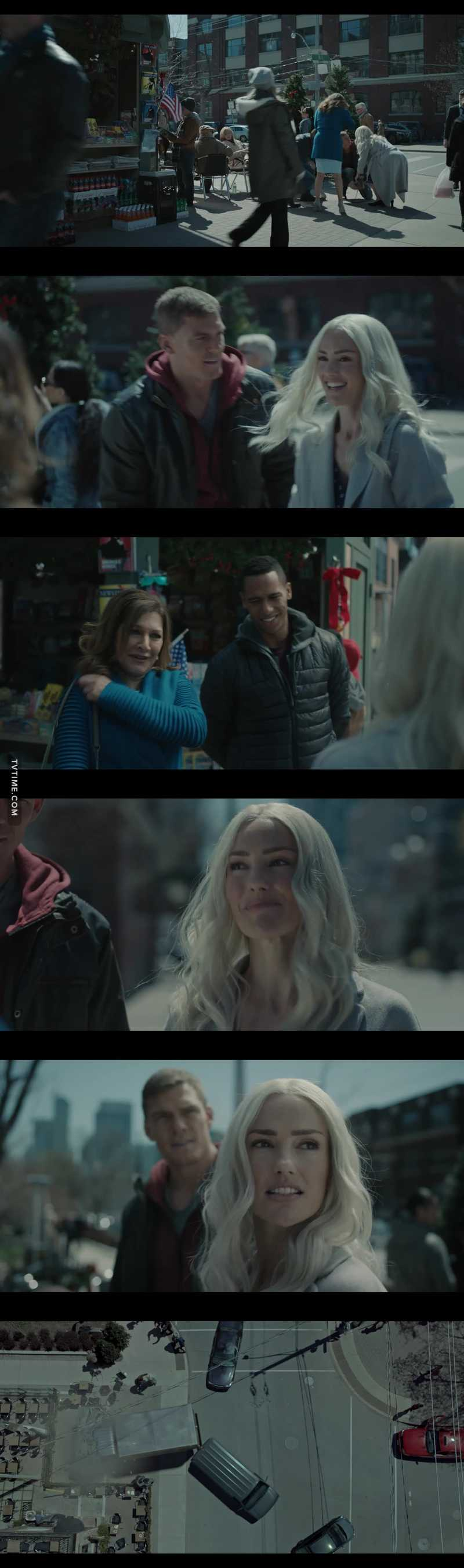 So that's how they met heartbreaking💔 tragedy though... Hank & Dawn which they superhero name now is hawk and Dove    R.I.P. mother and brother