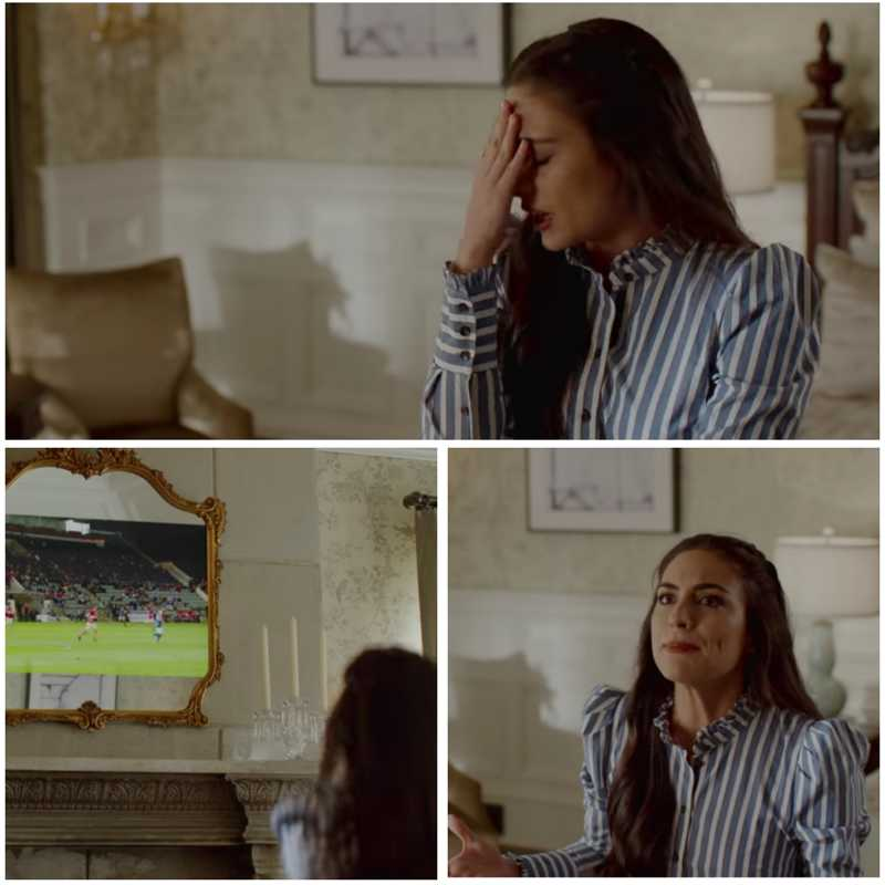 Cristal is me while watching a football match