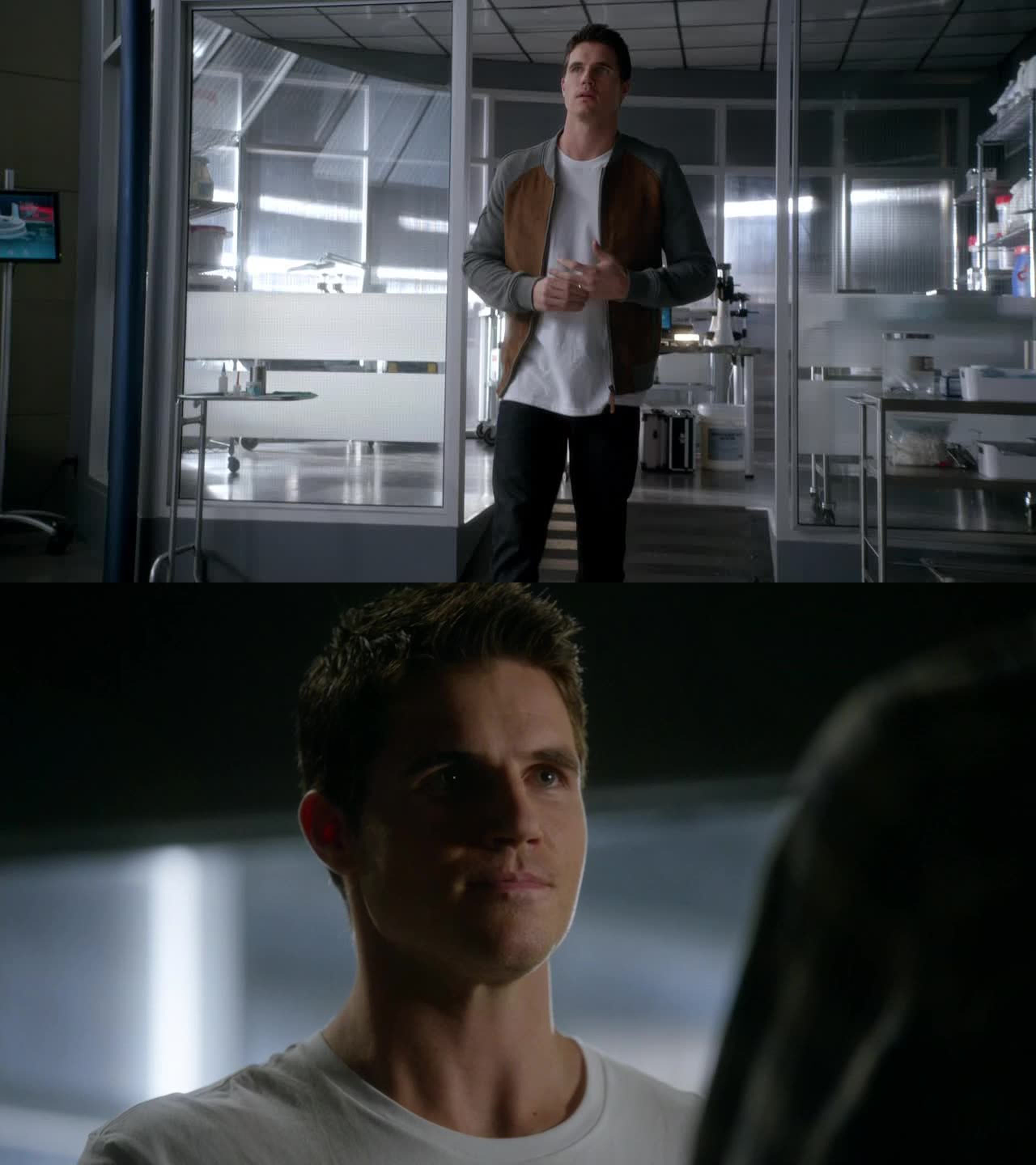 Thanks for putting Robbie Amell in the show *-*