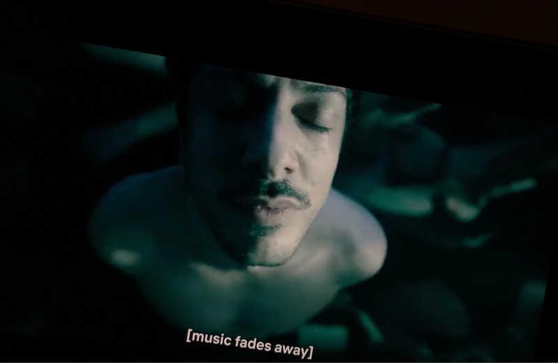 """ sorry , music is my drug """