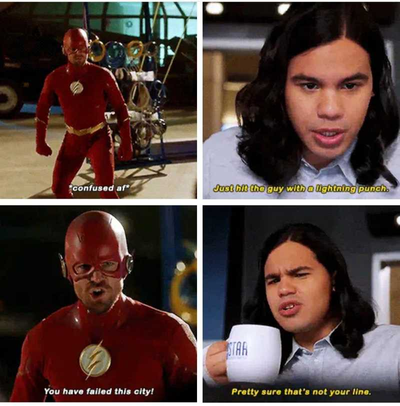 I laughed too much. Than you Cisco!!! 🤣