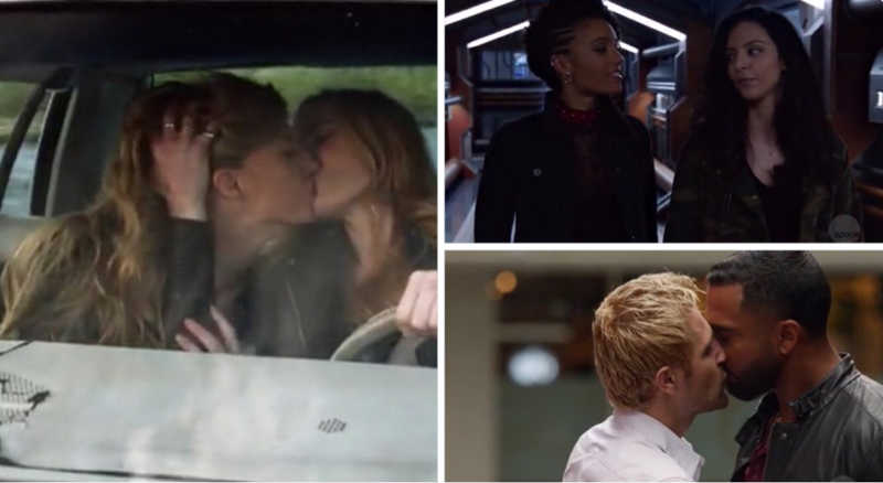 LEGENDS OF TOMORROW IS DOING WHAT OTHERS TV SERIES ARE TOO AFRAID TO DO. A gay, interracial, kiss saved the time line; a beautiful, developed, healthy, shaped relationship between two women are the center of the show; male characters who are willing to take down toxic masculinity; the first Muslim superhero (MY GIRL) who so naturally flirts with another women. I was quite sad that they weren't in the crossover just because it brings more people to watch it but after this episode I realized that they don't need it: yes, it's a crazy show, with a lot of fantasy and imagination, but they're funny as hell and were able to make fun of the annual crossover, in the best way possible, and created their own magical event. That's how creativity works. LoT deserves so much better.