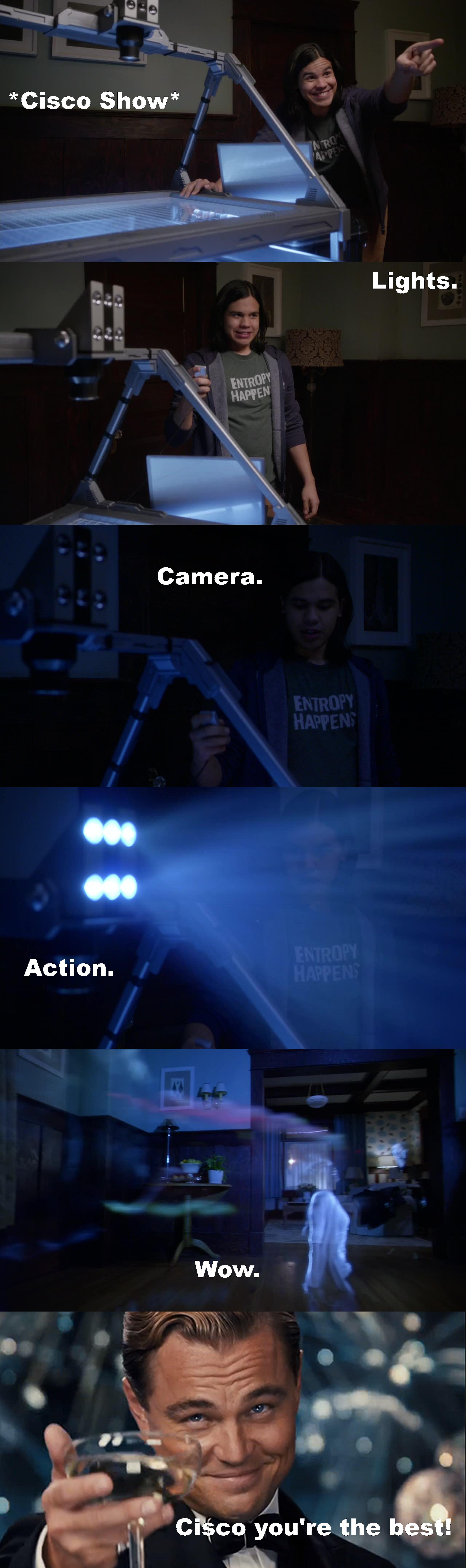 Super episode ! Et la cerise sur le gâteau c'est Iris qui se fait remettre à sa place par Barry!!!  Merci Cisco pour ces moments fun ! :)