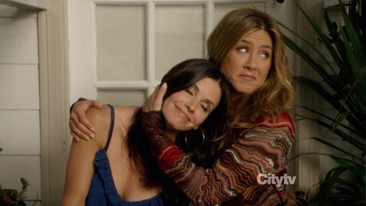 And it's Monica and Rachel again. **