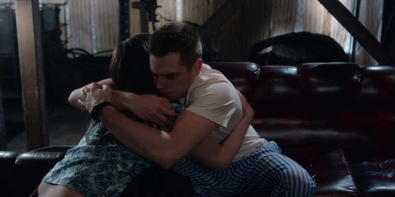 Trevor made up that the director had a message for Grace because he actually wanted to hug her without her knowing that those emotions are from him to her! ❤️